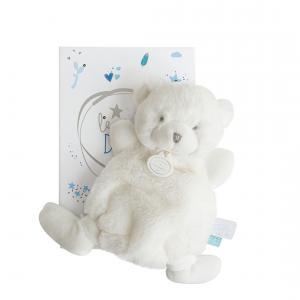 Doudou et compagnie - DC3267 - Le doudou - doudou ours bleu - 19 cm - boîte led (367948)