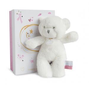 Doudou et compagnie - DC3269 - Le doudou - pantin ours rose 20 cm  (boîte Led) (367952)