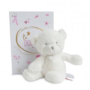 Doudou et compagnie - DC3272 - Le doudou - pantin ours rose 26 cm (367958)
