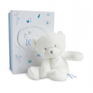 Doudou et compagnie - DC3273 - Le doudou - pantin ours bleu 26 cm - boîte led (367960)