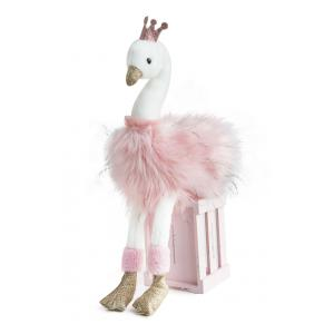 Histoire d'ours - HO2772 - Peluche cygne rose  - taille 45 cm (367996)