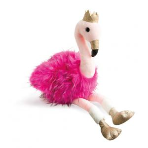 Doudou et compagnie - HO2773 - Collection Je Rêve ! - FLAMANT ROSE - 80 CM (367998)