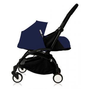 Babyzen - Bu085 - Edition spéciale Nouvelle poussette Babyzen Yoyo plus cadre noir pack naissance Bleu Air France (368020)