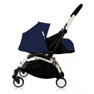 Babyzen - Bu090 - Poussette Yoyo plus Bleu Air France cadre blanc pack naissance (368030)