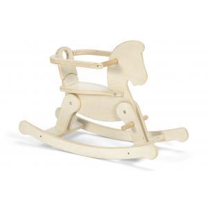 Mamas and Papas - 644906000 - Cheval en bois à bascule avec siège à partir de 12 mois (368380)