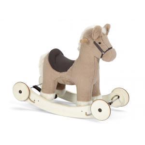 Mamas and Papas - 6661B9401 - Animal à bascule avec roulettes - Mocha le poney à partir de 12 mois (368384)