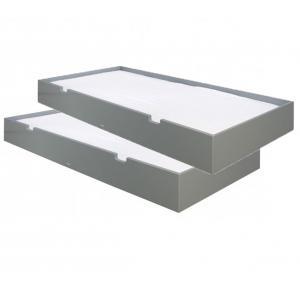 Bopita - 24604620 - 2 tiroirs de rangement gris profond (368494)