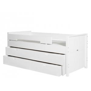 Bopita - 24604611 - 2 tiroirs de rangement blanc (368496)
