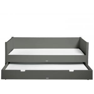 Bopita - 495720 - Lit banquette 90X200 STAN gris profond (368566)