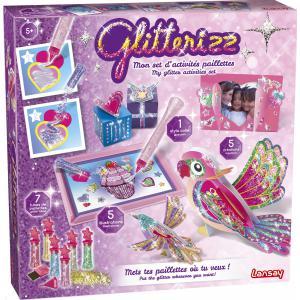 Lansay - 23012 - Glitterizz mon set d'activités paillettes (368752)