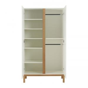 Quax - 54045414-2D - Armoire Indigo 2 portes Indigo - blanc (368780)