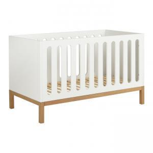 Quax - 54014714XL - Lit bébé évolutif Indigo - blanc 70*140 (368806)
