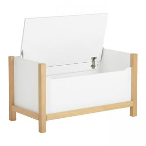 Quax - 54081214 - Coffre à jouets Indigo - blanc (368812)