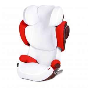 Cybex - 518001001 - Housse d'été blanc pour siège auto SOLUTION Q4 (369312)