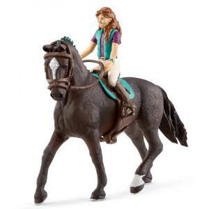 Schleich - 42413 - Horse Club Lisa & Storm - 15 cm x 8,2 cm x 18 cm (369514)