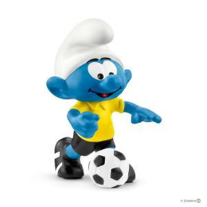 Schleich - 20806 - Figurine Schtroumpf footballeur + ballon 3,2 cm x 3,6 cm x 5,4 cm (369550)