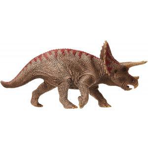 Schleich - 15000 - Figurine Tricératops - Dimension : 21,1 cm x 5,2 cm x 9,8 cm (369566)