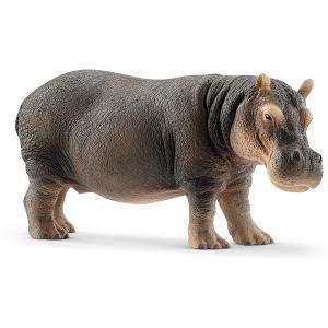 Schleich - 14814 - Figurine Hippopotame - Dimension : 12,8 cm x 4,7 cm x 6 cm (369574)