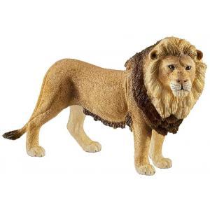 Schleich - 14812 - Figurine Lion - Dimension : 12 cm x 3,6 cm x 7,3 cm (369578)