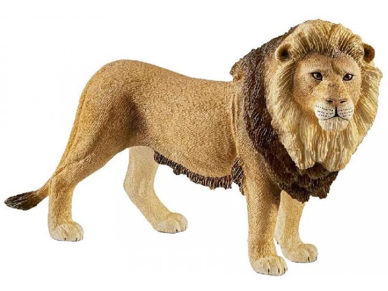 Jouet en bois Lion 12 x 9 x 2 cm