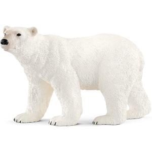 Schleich - 14800 - Figurine Ours polaire 12,2 cm x 5,7 cm x 7,2 cm (369602)