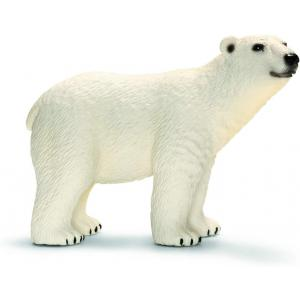 Schleich - 14800 - Figurine Ours polaire - Dimension : 12,2 cm x 5,7 cm x 7,2 cm (369602)