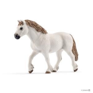 Schleich - 13872 - Figurine Ponette de race gallois - Dimension : 12,5 cm x 2,8 cm x 8,2 cm (369620)