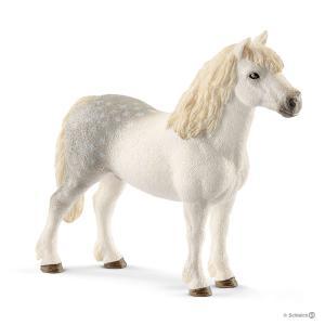 Schleich - 13871 - Figurine Poney gallois mâle - Dimension : 11,5 cm x 3,3 cm x 9,7 cm (369622)