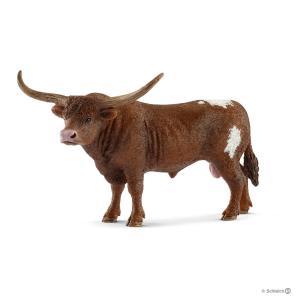 Schleich - 13866 - Figurine Taureau Texas Longhorn 13,9 cm x 8,4 cm x 8,8 cm (369632)