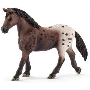 Schleich - 13861 - Figurine Jument Appaloosa - Dimension : 13,3 cm x 3,6 cm x 10,1 cm (369638)