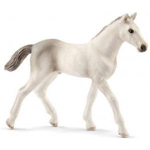 Schleich - 13860 - Figurine Poulain Holstein - Dimension : 9,8 cm x 2,2 cm x 7,8 cm (369640)