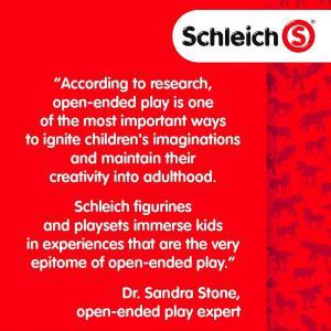 Schleich - 13859 - Figurine Hongre Holstein - Dimension : 12,7 cm x 3,4 cm x 11,1 cm (369642)