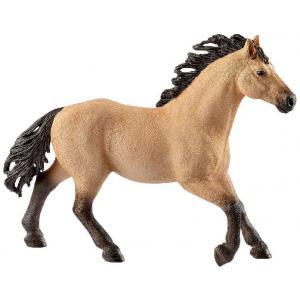 Schleich - 13853 - Figurine Étalon Quarter horse - Dimension : 14,1 cm x 3,4 cm x 10,6 cm (369652)