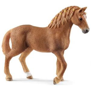 Schleich - 13852 - Figurine Jument Quarter horse - Dimension : 12,5 cm x 3,5 cm x 10,5 cm (369656)