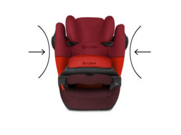cybex si ge auto pallas m fix sl rouge rumba red. Black Bedroom Furniture Sets. Home Design Ideas