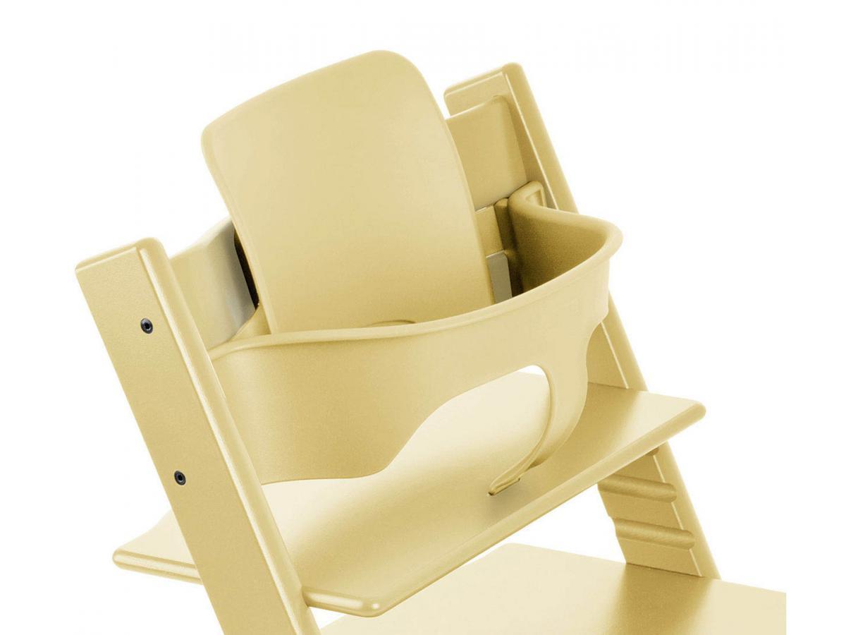 stokke chaise haute tripp trapp jaune pi de bl personnalisable. Black Bedroom Furniture Sets. Home Design Ideas