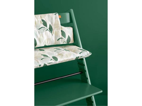 stokke chaise haute tripp trapp vert f ret personnalisable. Black Bedroom Furniture Sets. Home Design Ideas
