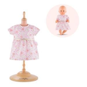 Corolle - FPP31 - Robe rose pour bébé 30 cm  à partir de 18 mois (371288)