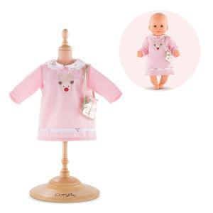 Corolle - FPP43 - Robe rennes dingues  pour bébé 30 cm à partir de 18 mois (371290)