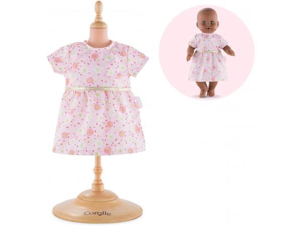 Robe rose pour bébé 36 cm à partir de 2 ans