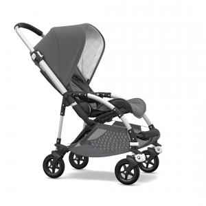 Bugaboo - 500320AE01 - Bugaboo Bee5 classique ALU Gris chiné (371610)