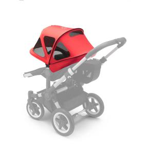 Bugaboo - 180322NR01 - Bugaboo Donkey capote à fenêtres Rouge Neon (371642)