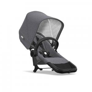 Bugaboo - 180134AE01 - Bugaboo Donkey2 classique extension duo Noir / Gris chiné (371656)