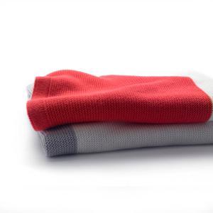 Bugaboo - 80152NR01 - Bugaboo couverture légère en coton Rouge Neon (371676)