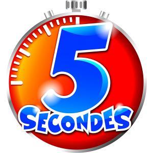 Megableu editions - 678120 - 5 secondes nomade - dés 8 ans (371704)