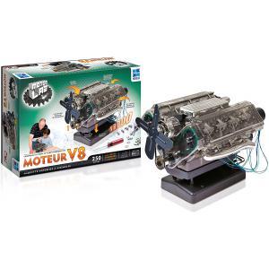 Megableu editions - HM10MB - Motor lab - Moteur V8 - Dés 10 ans (371760)