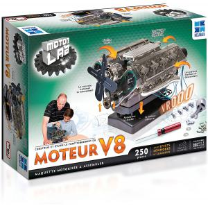 Megableu editions - HM10MB - Motor lab - moteur à combustion v8 (371760)