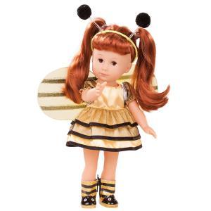 Gotz - 1813031 - Poupées 27 cm - Just Like Me Lucia, die Biene, cheveux acajou rouge (371808)