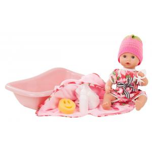 Gotz - 1853136 - Poupée 33 cm Sleepy Aquini girl, strawberry fields, 9-pièces (371824)