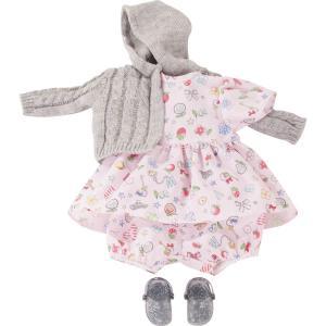 Gotz - 3402922 - Ensemble bébé, Villa Kunterbunt, 5 pièces pour bébés de 30-33cm (371850)